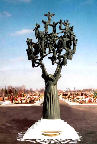 Памятник детям, жертвам теракта в бесланской школе. </p><p> Находится на бесланском кладбище