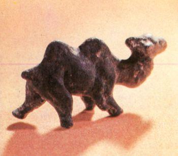 Скульптурная фигурка верблюда. Первое тыс. до н. э. </p><p> Бронза, литье. Высота 8,5 см. СОАССР.</p><p> The figure of a camel First millennium В. С. </p><p> Bronze, casting. 8,5 cm. high North Ossetia</p><p>