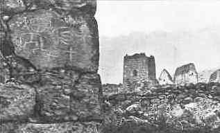 Селение Цимити. Башня Басаевых