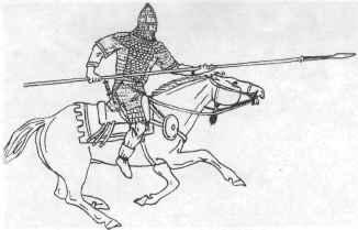 Сарматский конный воин <br> (реконструкция А. М. Хазанова)