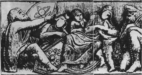 Пленные аланы. Резьба по слоновой кости, <br>Конец IV — начало V века. Гальберштадский собор
